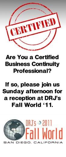 Certification Reception