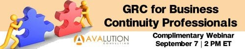 September 1, 2011: GRC for Business Continuity Professionals