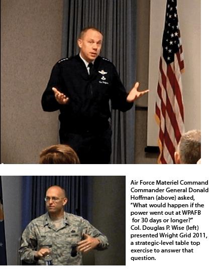 Exercising an Air Force Base Plan