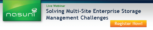 November 3, 2011: Customer Success Story: Solving Multi-Site Enterprise Storage Management Challenges
