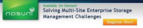 November 17, 2011: Solving Multi-Site Enterprise Storage Management Challenges