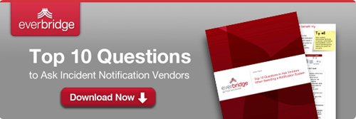 April 17, 2012: Emergency Notification Vendor Guide & Expert Insights Webcast