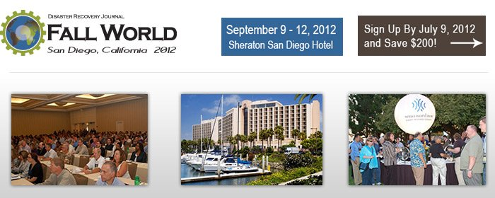May 14, 2012:View the Complete Fall World 2012 Agenda!