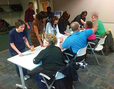 Kansas City Planners Band Together in Exercise