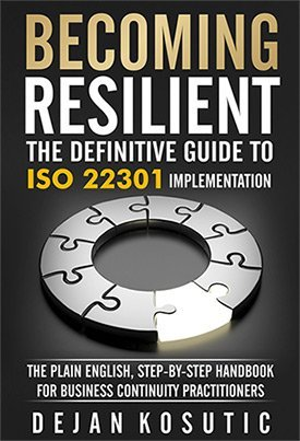 New book to help companies implement business continuity according to ISO 22301