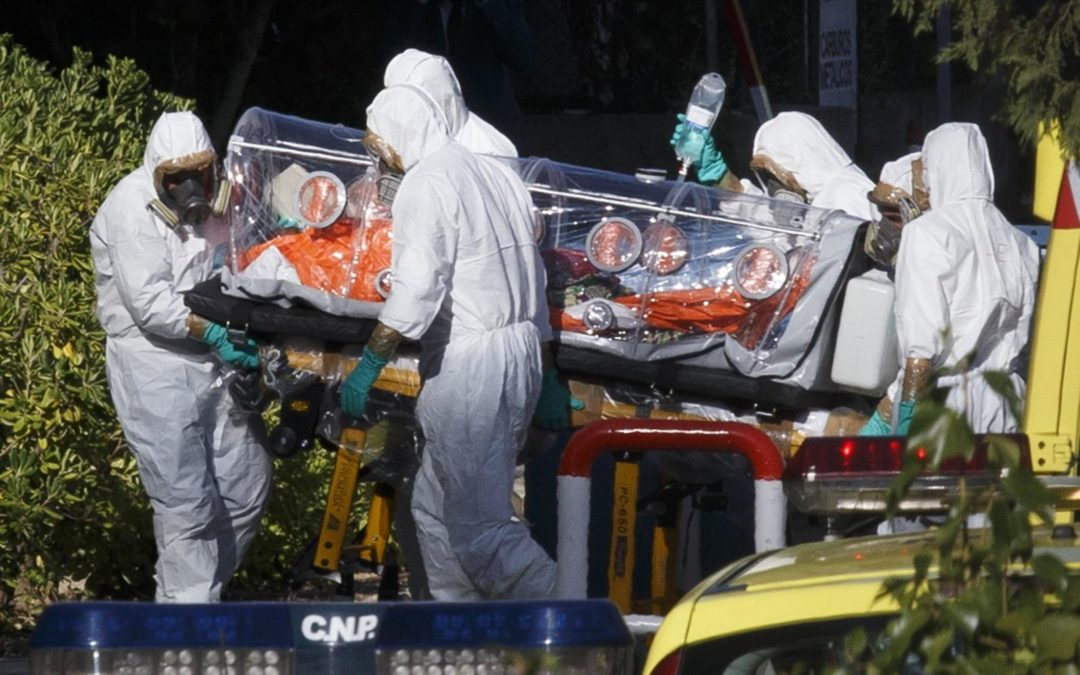 Ebola – The Classic Creeping Crisis