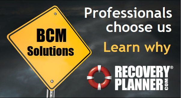 BCM Solutions: Professionals Choose Us. RecoveryPlanner.com